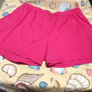 Hot Pink swim Bottoms Size 26
